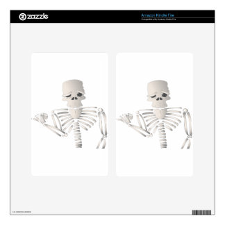 Skeleton Skin For Kindle Fire