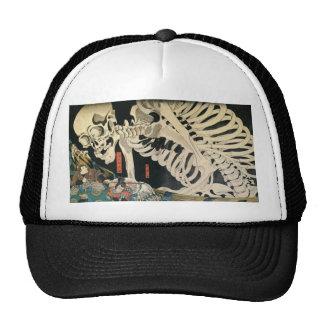 Skeleton Spectre by Kuniyoshi Utagawa Hat