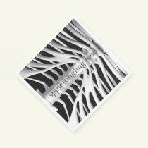 Skeleton Spine-tingling Halloween Paper Napkins
