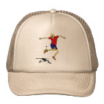 skeleton sports hackysack hat