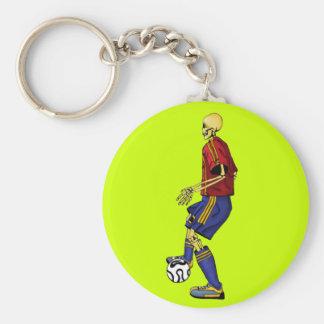 Skeleton Sports Soccer Keychains