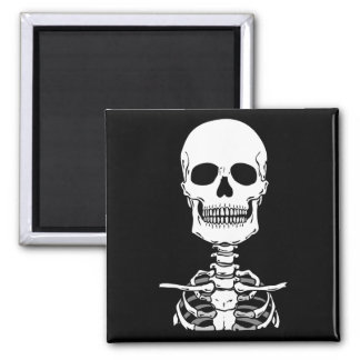 Skeleton Stickers & Buttons Magnet