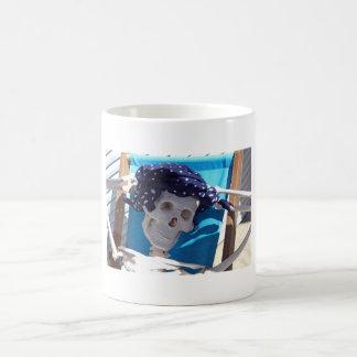 Skeleton Sun Bather Mug