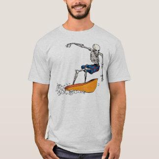 Skeleton Surfer Dude T-shirt
