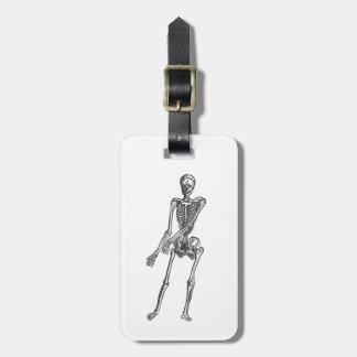 Skeleton Tag For Luggage