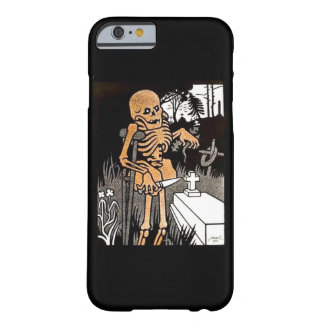 Skeleton Tending the Grave Barely There iPhone 6 Case
