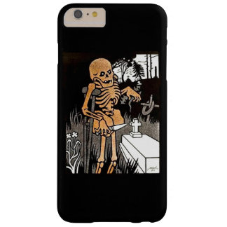 Skeleton Tending the Grave Barely There iPhone 6 Plus Case