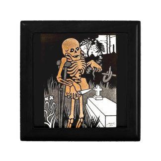 Skeleton Tending the Grave gift box