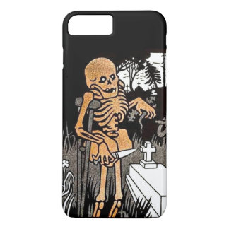 Skeleton Tending the Grave iPhone 7 Plus Case