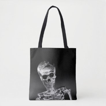 Halloween Themed Skeleton Tote Bag