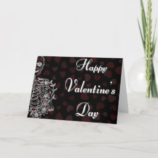Skeleton Valentine Card