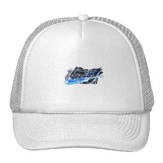 skeleton violin blue music jar still life.png trucker hat