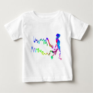 Skeleton Walk Baby T-Shirt