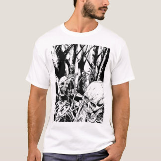 skeleton war T-Shirt