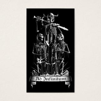 Skeleton Warrior Business Card