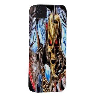 Skeleton Warrior iPhone 4/4s Mate ID Case