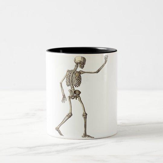 Skeleton Waving Mug