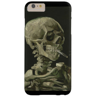 Skeleton with a cigarette by Vincent van Gogh Barely There iPhone 6 Plus Case