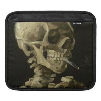 Skeleton with Cigarette 1886 iPad Sleeve