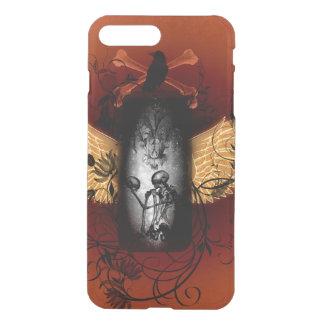 Skeleton with crow iPhone 7 plus case