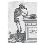 Skeleton With Skull Card