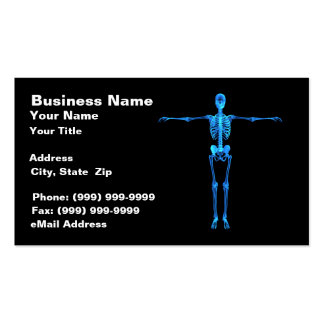 Skeleton X-Ray Business Card