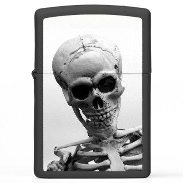 Halloween Themed Skeleton Zippo Lighter