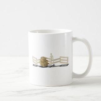 SkeletonBalesOfHayFence062115 Coffee Mug