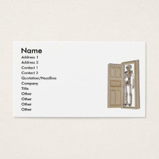 SkeletonCloset081510, Name, Address 1, Address ... Business Card
