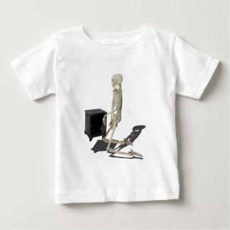 SkeletonClosingSafe032215 Baby T-Shirt