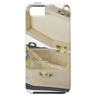 SkeletonEngagementRingCoffin070515 iPhone SE/5/5s Case