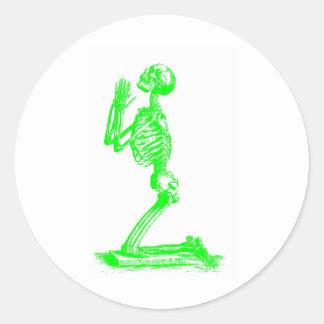 skeletongreen pegatinas
