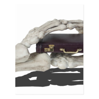 SkeletonHandsBriefcase081614 copy Postcard