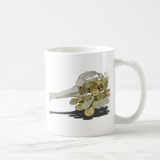 SkeletonHandsGoldCoins081614 copy Coffee Mug