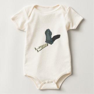 SkeletonLayingFrontHeadstone070315 Baby Bodysuit