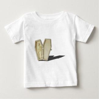SkeletonLyingInCoffin070315 Baby T-Shirt