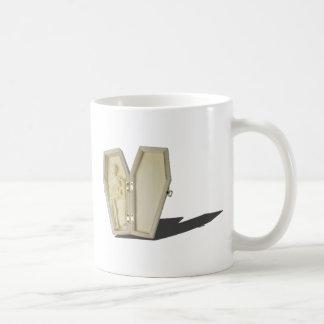 SkeletonLyingInCoffin070315 Coffee Mug