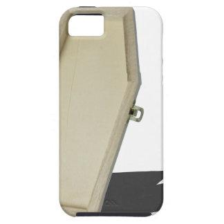 SkeletonLyingInCoffin070315 iPhone SE/5/5s Case