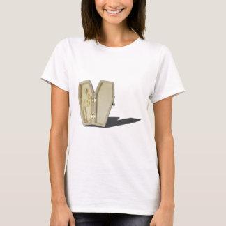 SkeletonLyingInCoffin070315 T-Shirt