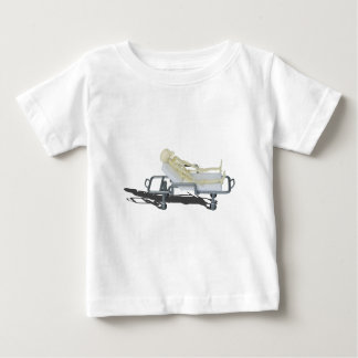 SkeletonOnGurney092715 Baby T-Shirt