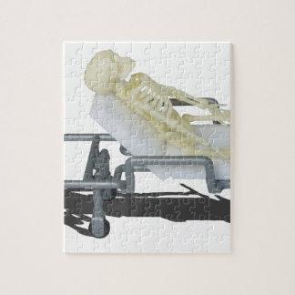 SkeletonOnGurney092715 Jigsaw Puzzle