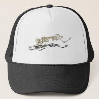 SkeletonProneSideways032215 Trucker Hat