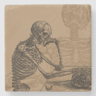 Skeletons and Death Stone Coaster
