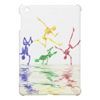 Skeletons break dancing case for the iPad mini