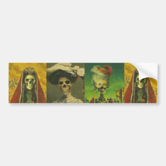 Skeletons Bumber Sticker