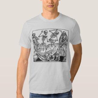 Skeletons Dancing Tee Shirts