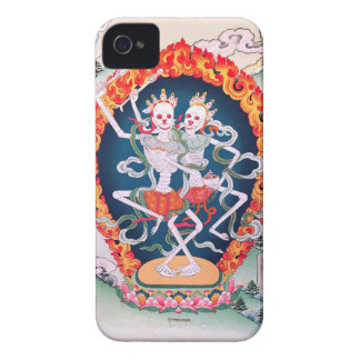 Skeletons Dancing Tibetan Buddhist Art Case-Mate iPhone 4 Case