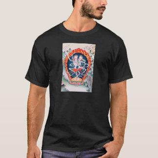 Skeletons Dancing Tibetan Buddhist Art T-Shirt