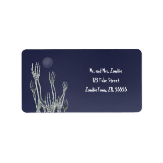 Skeletons - Halloween Labels
