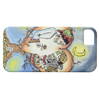 Skeletons in Love Spanish Phone Case